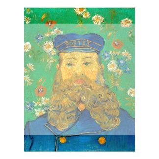Retrato de José Roulin de Vincent van Gogh Flyer A Todo Color