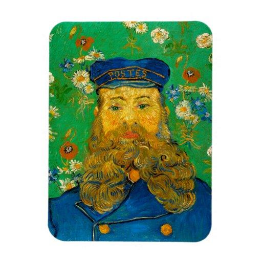 Retrato de José Roulin de Vincent van Gogh Imán De Vinilo