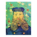 Retrato de José Roulin de Vincent van Gogh Tarjeta Postal