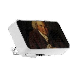Retrato de José Wright del Dr. Erasmus Darwin Laptop Altavoces