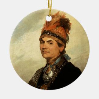 Retrato de Joseph Brant de Gilbert Estuardo Ornamentos De Reyes