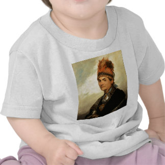 Retrato de Joseph Brant de Gilbert Estuardo Camisetas