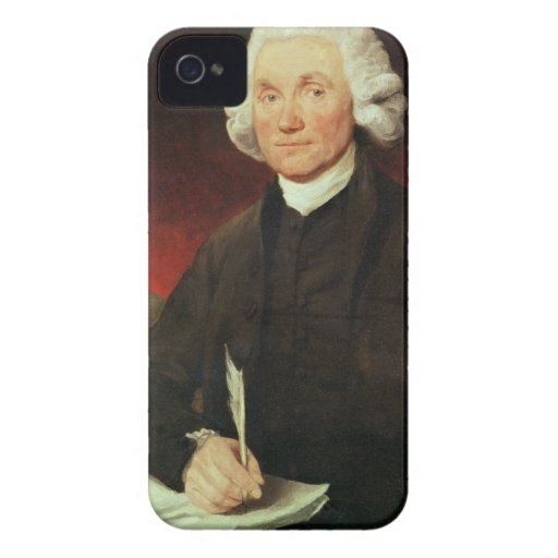 Retrato de Joseph Priestley (1733-1804) iPhone 4 Case-Mate Protector