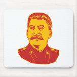 Retrato de Joseph Stalin Alfombrillas De Ratón