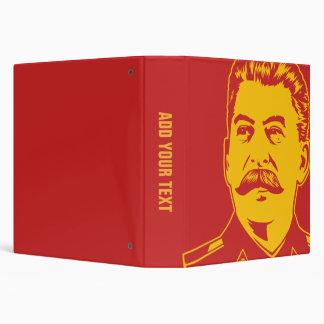 """Retrato de Joseph Stalin Carpeta 1 1/2"""""""