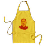 Retrato de Joseph Stalin Delantales