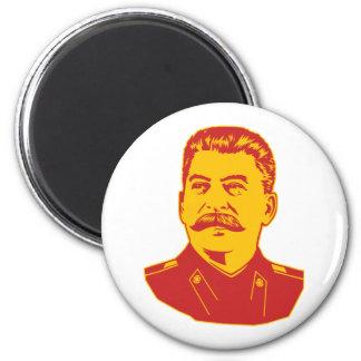 Retrato de Joseph Stalin Imán Redondo 5 Cm