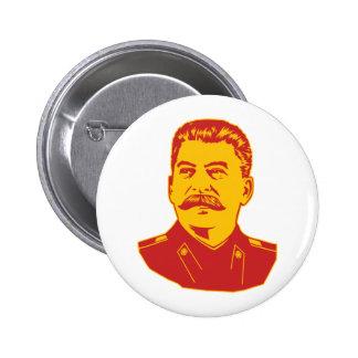 Retrato de Joseph Stalin Pin
