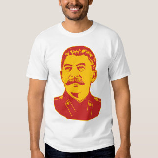 Retrato de Joseph Stalin Playeras