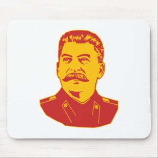 Retrato de Joseph Stalin Tapetes De Raton