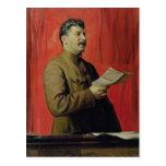 Retrato de Josif Stalin, 1933 Tarjetas Postales
