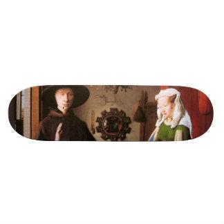 Retrato de Juan Arnolfini y su esposa Patín Personalizado