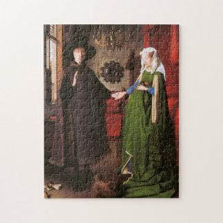 Retrato de Juan Arnolfini y su esposa Rompecabeza Con Fotos