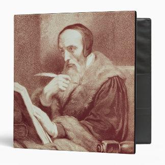Retrato de Juan Calvino (1509-1564) (grabado)
