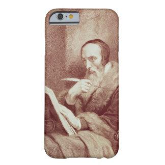 Retrato de Juan Calvino (1509-1564) (grabado) Funda Para iPhone 6 Barely There