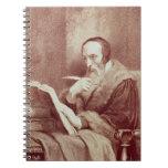 Retrato de Juan Calvino (1509-1564) (grabado) Libreta Espiral
