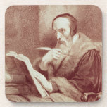 Retrato de Juan Calvino (1509-1564) (grabado) Posavasos