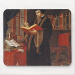 Retrato de Juan Calvino Alfombrilla De Raton