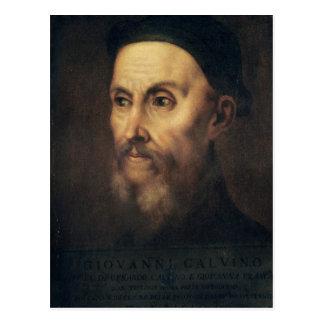 Retrato de Juan Calvino Postal