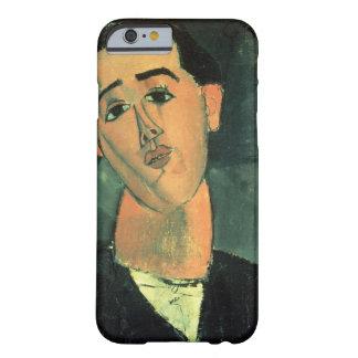 Retrato de Juan Gris (1887-1927) 1915 (el aceite Funda Para iPhone 6 Barely There