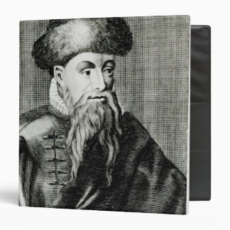 Retrato de Juan Gutenberg