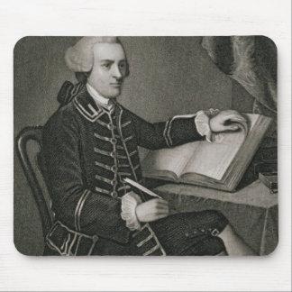 Retrato de Juan Hancock, grabado por Juan B. Forr Alfombrilla De Raton