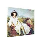Retrato de Juan Heinrich Wilhelm - de Goethes Impresiones En Lienzo Estiradas