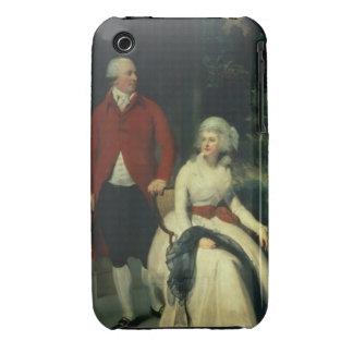 Retrato de Juan Julio Angerstein (1735-1823) y Carcasa Para iPhone 3