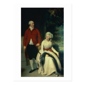 Retrato de Juan Julio Angerstein (1735-1823) y Tarjeta Postal