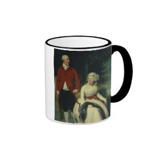 Retrato de Juan Julio Angerstein (1735-1823) y Taza