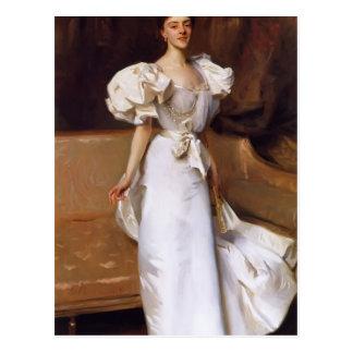 Retrato de Juan Sargent- de la condesa Clary Aldr Postal