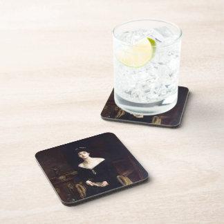 Retrato de Juan Sargent- de señora Ernesto G Raph Posavasos De Bebidas