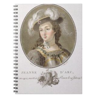 Retrato de Juana de Arco (1412-31), 1787 (coloread Libretas Espirales