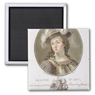 Retrato de Juana de Arco (1412-31), 1787 (coloread Imán Cuadrado