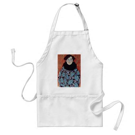 Retrato de Juana Staude de Klimt Gustavo Delantal