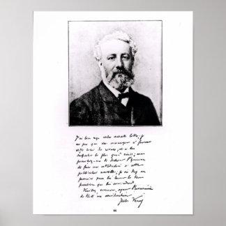 Retrato de Jules Verne Posters