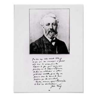 Retrato de Jules Verne Póster