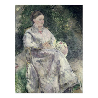 Retrato de Julia Velay, esposa del artista Postal