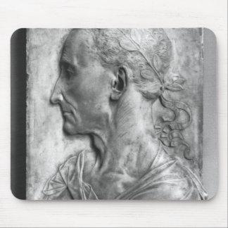 Retrato de Julio César Tapetes De Ratón