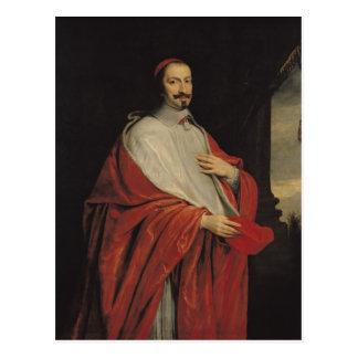 Retrato de Julio Mazarin Tarjeta Postal