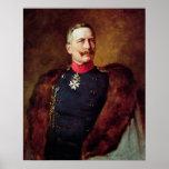 Retrato de Kaiser Wilhelm Ii Poster