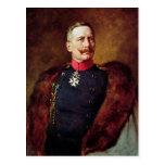 Retrato de Kaiser Wilhelm Ii Tarjeta Postal