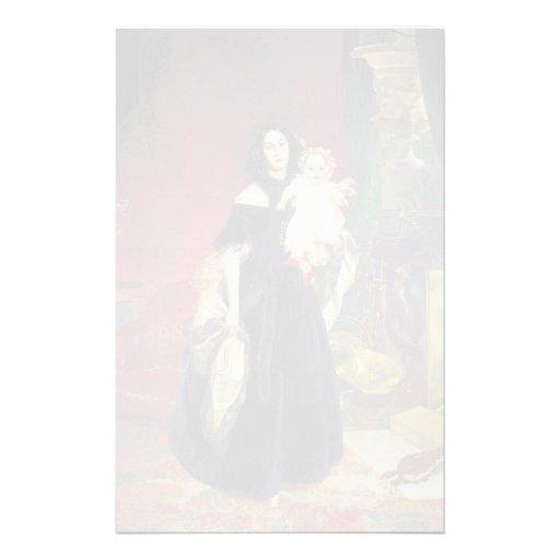 Retrato de Karl Bryullov- de M.A. Beck, M.I. Beck Papeleria
