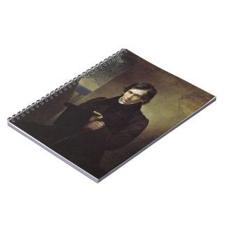 Retrato de Karl Bryullov- del poeta y del dramatur Libreta