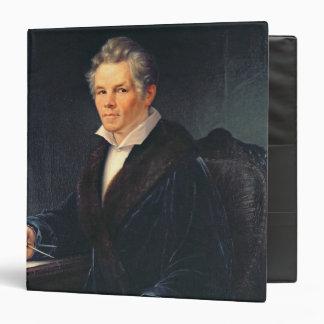 "Retrato de Karl Friedrich Schinkel, c.1880 Carpeta 1 1/2"""