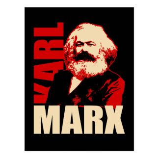 Retrato de Karl Marx, comunista/socialista Postales