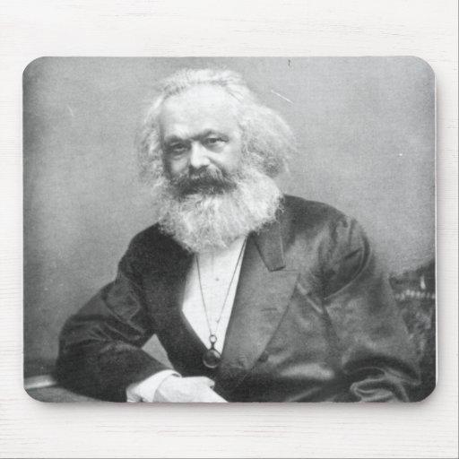 Retrato de Karl Marx Mousepad