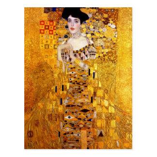 Retrato de Klimt de la postal de Adela Bloch-Bauer