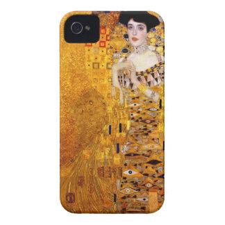 Retrato de Klimt del caso del iPhone de Adela iPhone 4 Case-Mate Protector