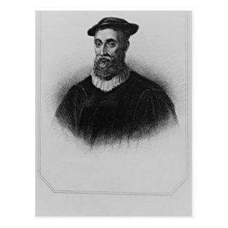 Retrato de Knox de los 'retratos británicos de la Postales